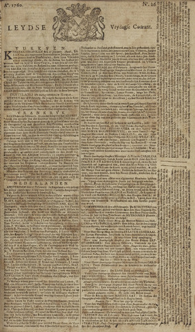 Leydse Courant 1760-02-29