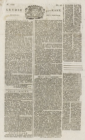 Leydse Courant 1820-02-07