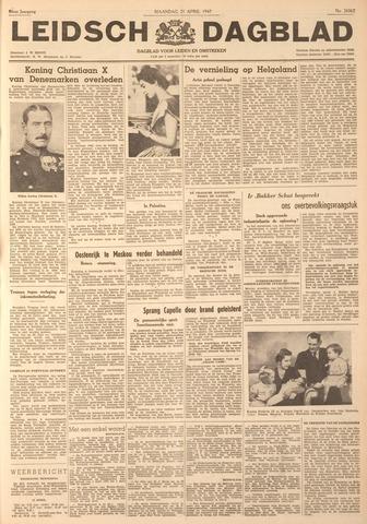 Leidsch Dagblad 1947-04-21