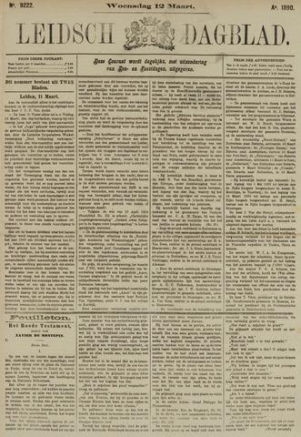 Leidsch Dagblad 1890-03-12