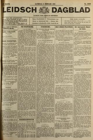 Leidsch Dagblad 1932-02-06