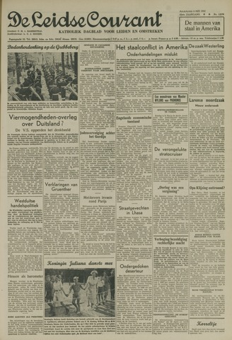 Leidse Courant 1952-05-05