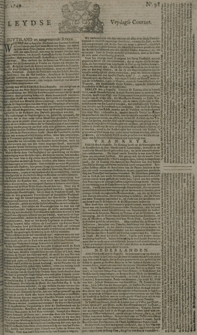 Leydse Courant 1749-08-15