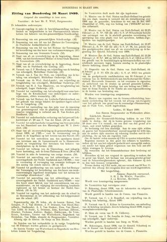 Handelingen van de Raad 1899-03-16