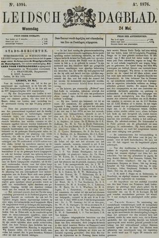 Leidsch Dagblad 1876-05-24