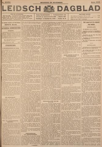 Leidsch Dagblad 1926-11-29