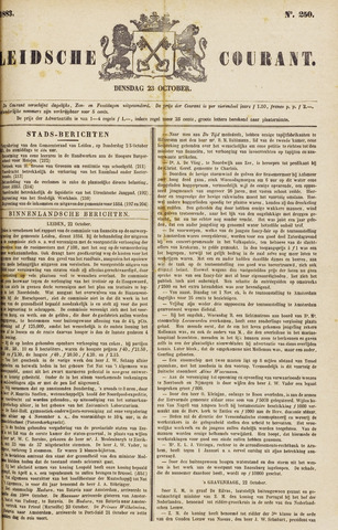 Leydse Courant 1883-10-23
