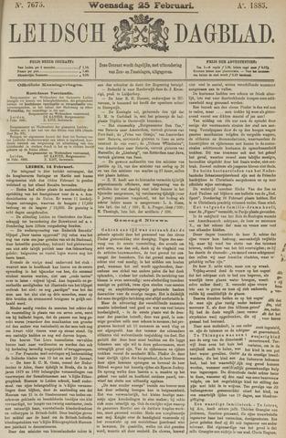 Leidsch Dagblad 1885-02-25