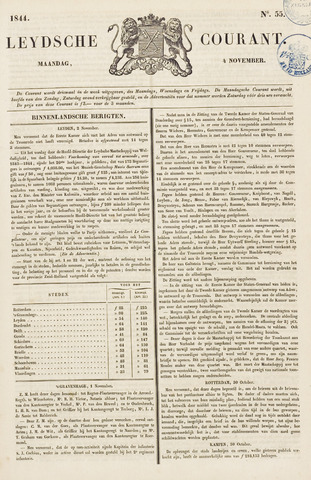 Leydse Courant 1844-11-04