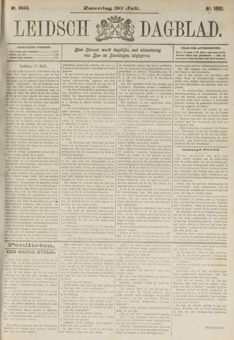 Leidsch Dagblad 1892-07-30