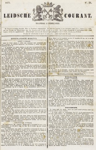 Leydse Courant 1871-02-06