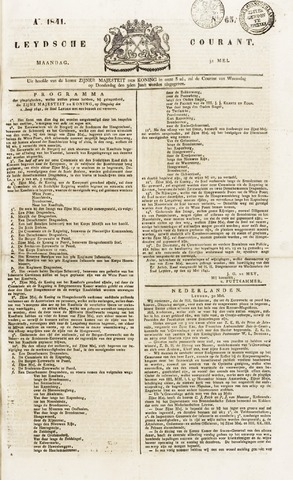 Leydse Courant 1841-05-31