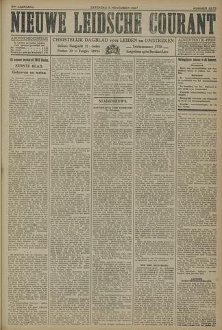 Nieuwe Leidsche Courant 1927-11-05