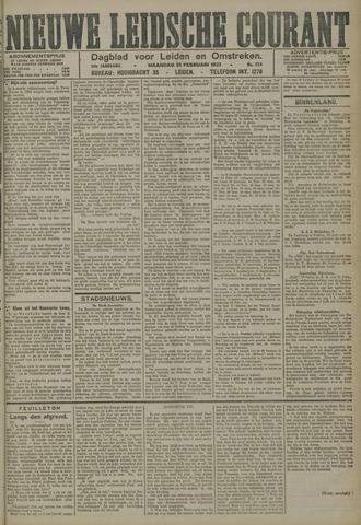 Nieuwe Leidsche Courant 1921-02-21