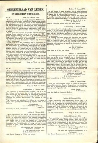 Handelingen van de Raad 1906-02-23