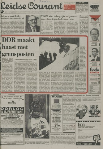 Leidse Courant 1989-11-11