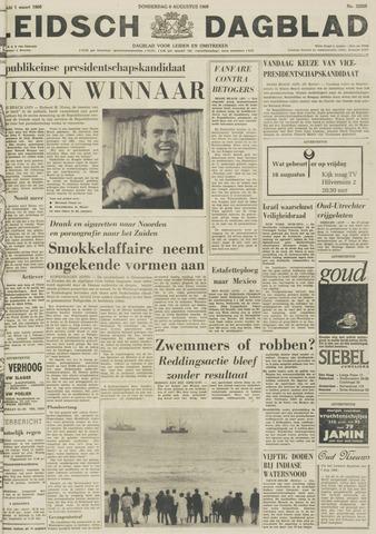 Leidsch Dagblad 1968-08-08