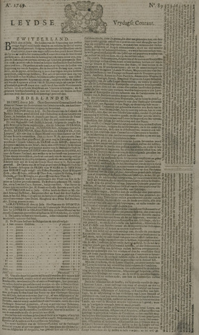 Leydse Courant 1749-07-25