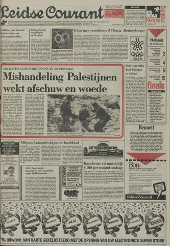 Leidse Courant 1988-02-27