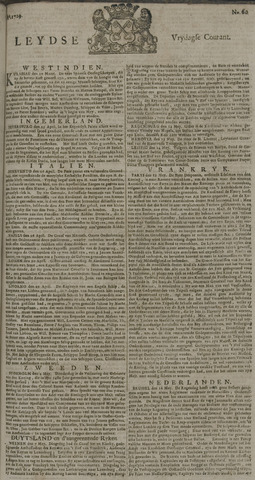 Leydse Courant 1729-05-20