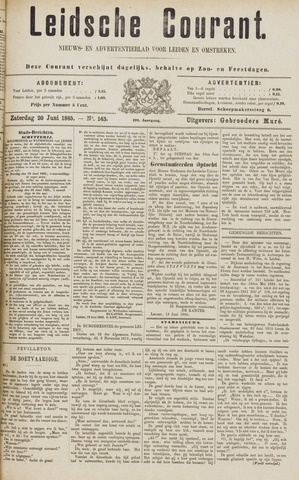 Leydse Courant 1885-06-20