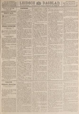 Leidsch Dagblad 1919-04-16