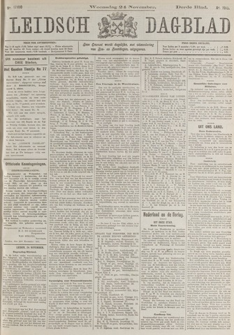 Leidsch Dagblad 1915-11-24