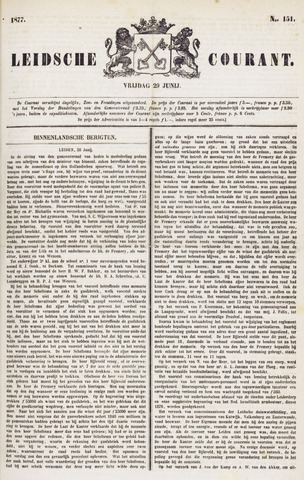 Leydse Courant 1877-06-29