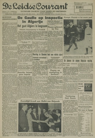Leidse Courant 1958-07-02