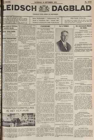 Leidsch Dagblad 1932-09-10