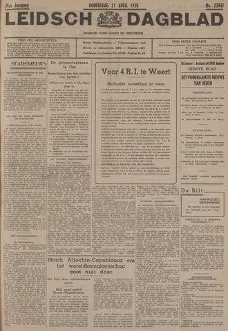 Leidsch Dagblad 1938-04-21