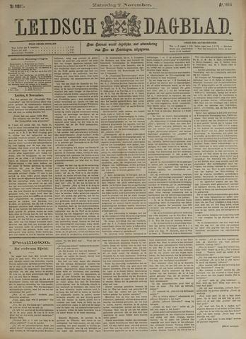 Leidsch Dagblad 1896-11-07