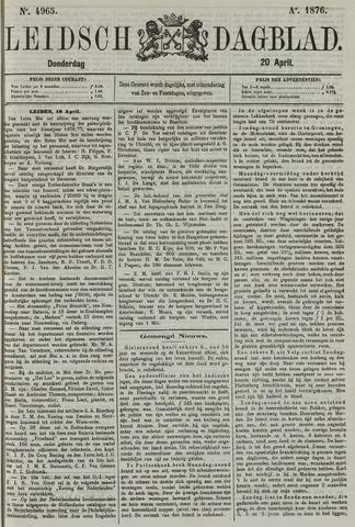 Leidsch Dagblad 1876-04-20