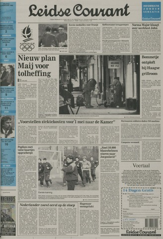 Leidse Courant 1992-02-14