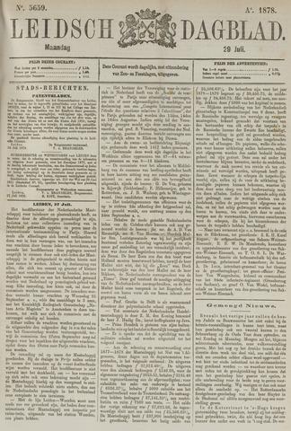 Leidsch Dagblad 1878-07-29