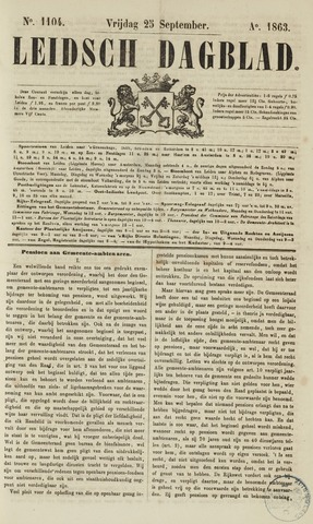 Leidsch Dagblad 1863-09-25