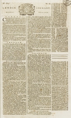 Leydse Courant 1817-07-21
