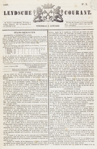 Leydse Courant 1869-01-06