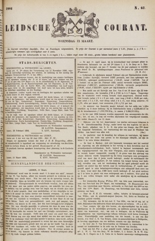 Leydse Courant 1884-03-12