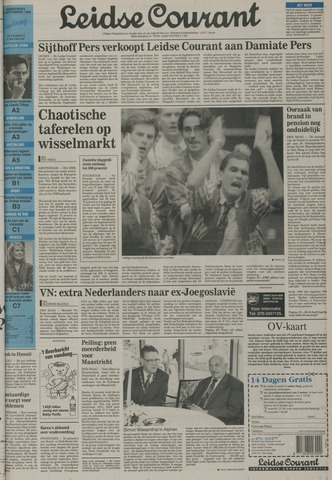 Leidse Courant 1992-09-17