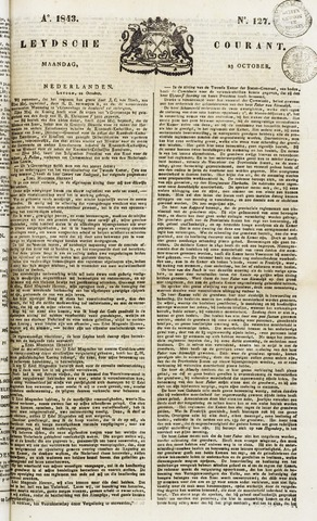 Leydse Courant 1843-10-23