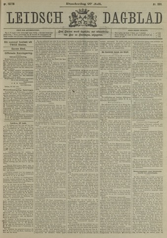 Leidsch Dagblad 1911-07-27