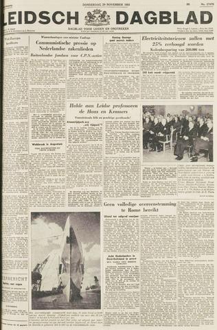 Leidsch Dagblad 1951-11-29
