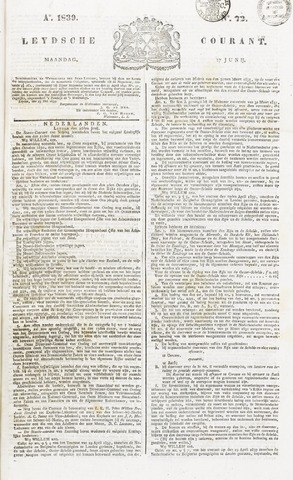 Leydse Courant 1839-06-17