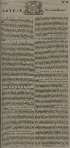 Leydse Courant 1744-07-22