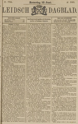 Leidsch Dagblad 1885-06-13