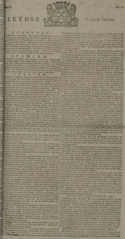 Leydse Courant 1729-01-28