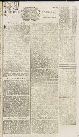Leydse Courant 1814-02-25