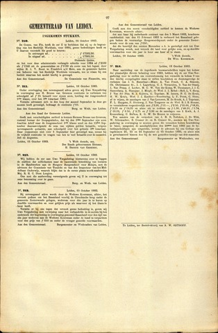 Handelingen van de Raad 1883-10-16