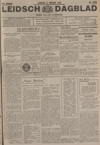 Leidsch Dagblad 1938-08-27